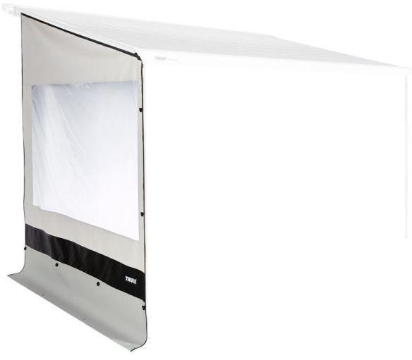 regen winschutz mit fenster f r thule omnistor sackmarkise. Black Bedroom Furniture Sets. Home Design Ideas