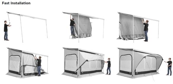 markisen thule zelte thule quick fit der camping discounter online shop. Black Bedroom Furniture Sets. Home Design Ideas