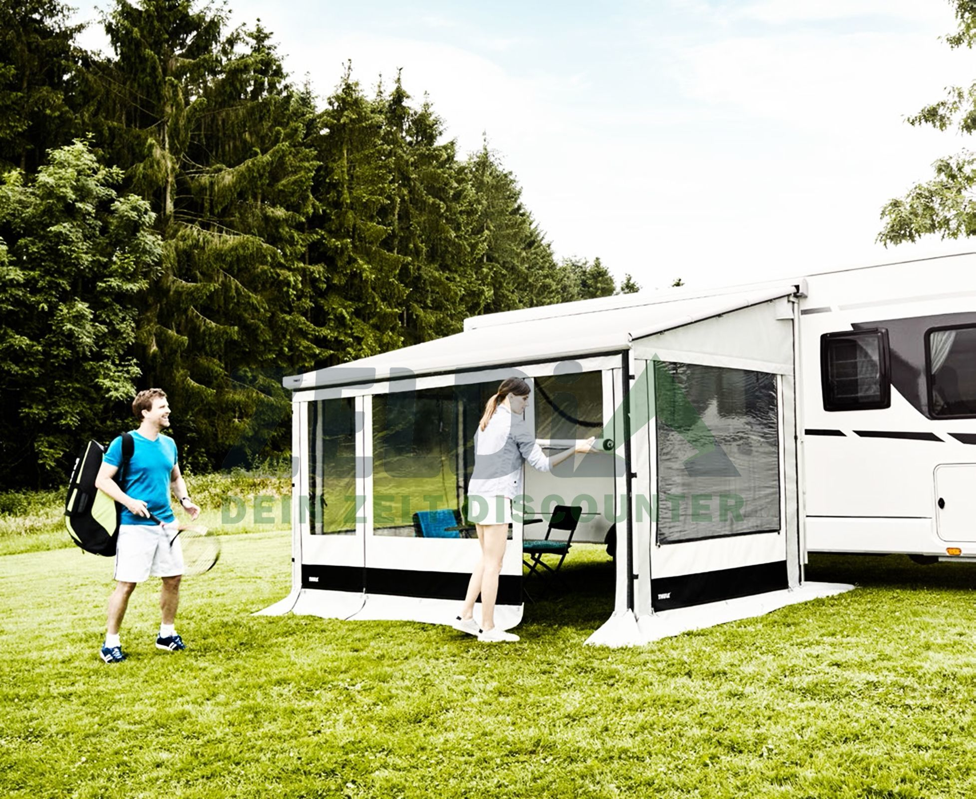 Thule Seitenteile Residence G3 | 6300-6200-6002 | 2,5m | Höhe: M