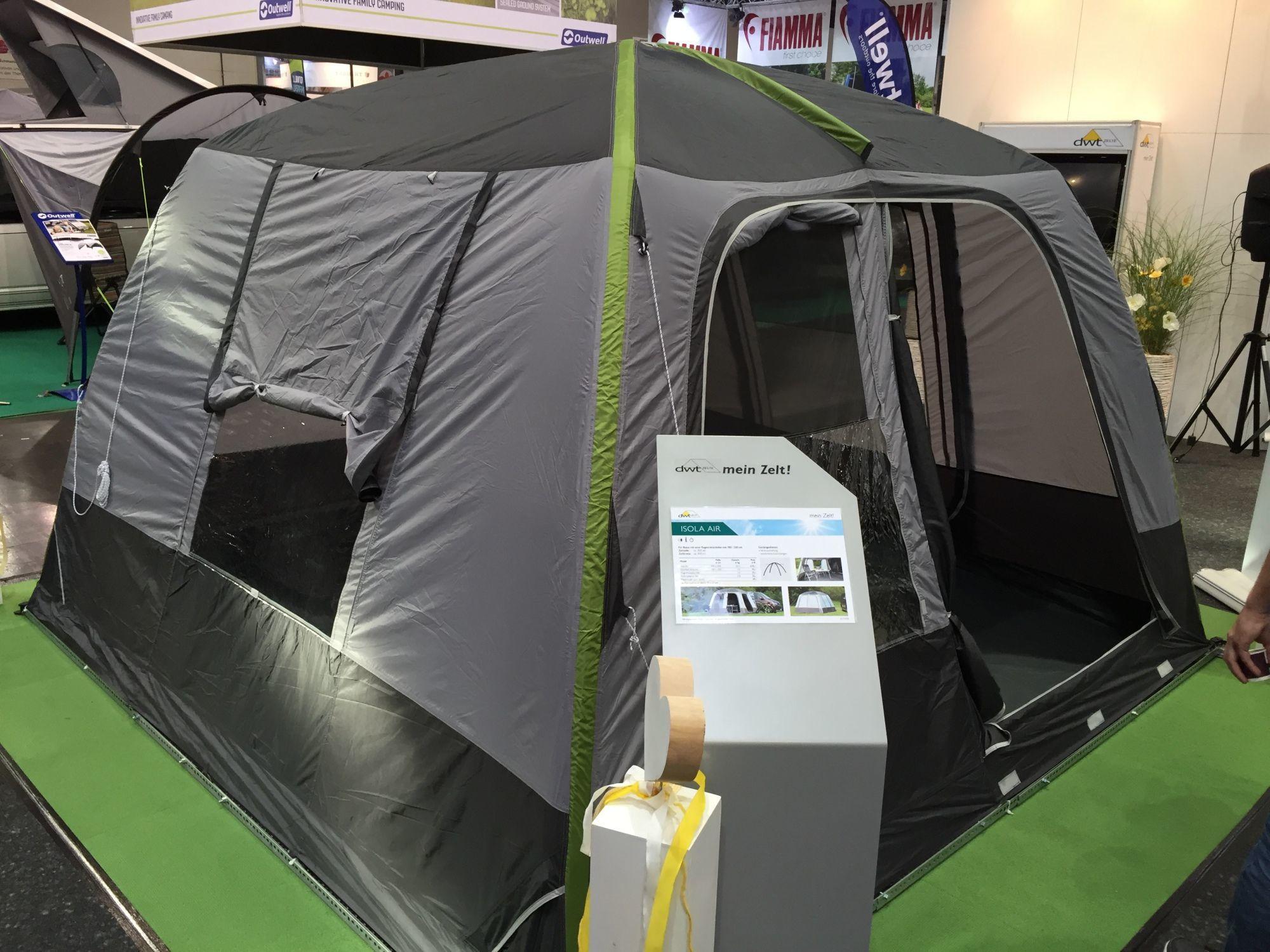 Isola Air Turbo dwt Buszelt mit Luftkammersystem
