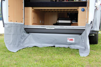 Fiamma Rear Skirting Ducato Heckwindblende