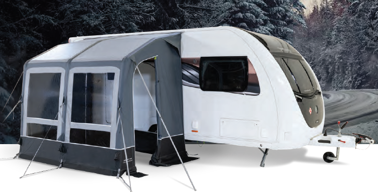 Vorzelt Kampa Dometiv Winter Air PVC 260 L hier kaufen
