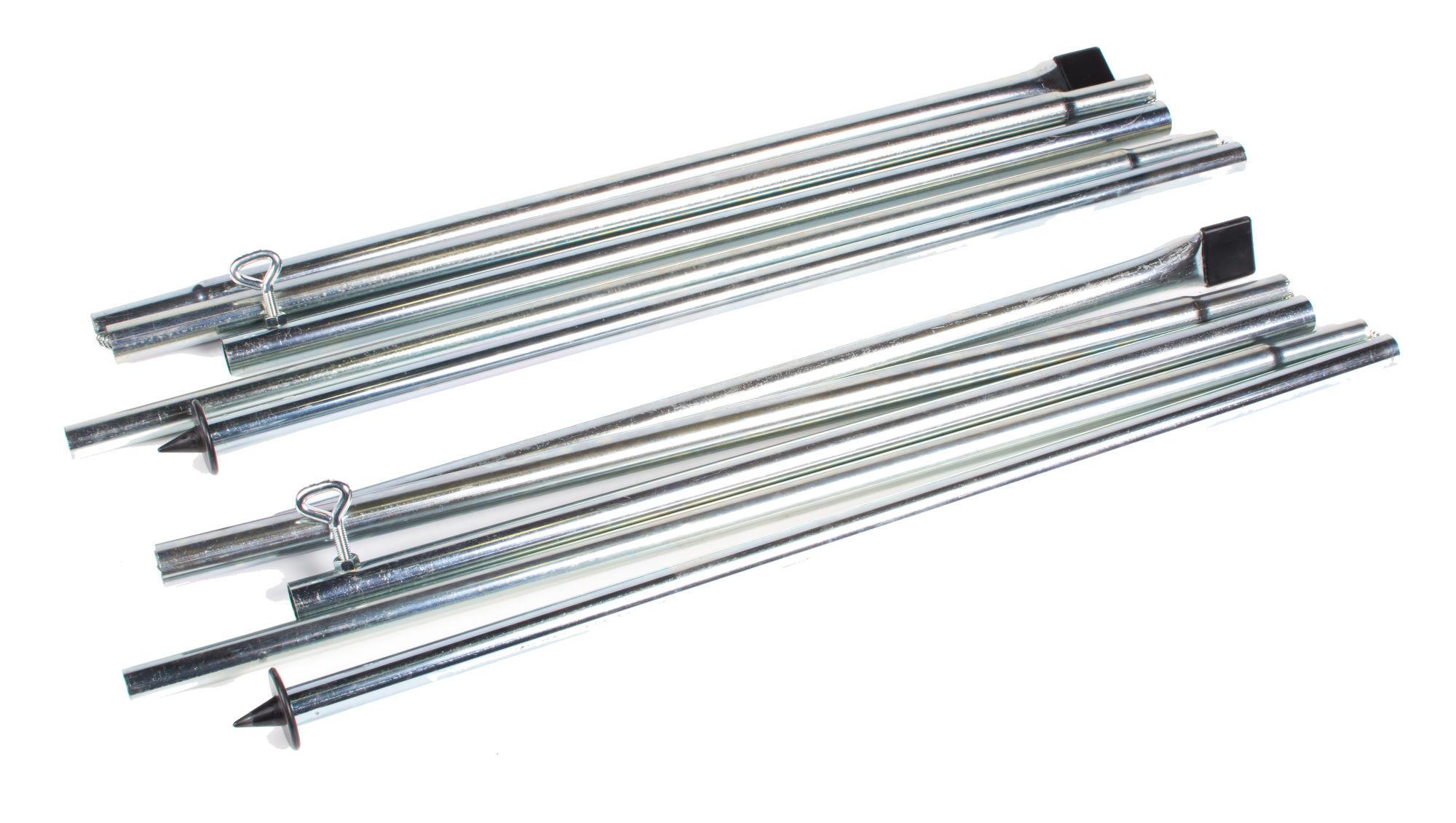 Kampa Andruckstangen Stahl F 252 R Luftzelte 1 Paar