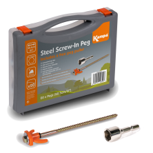 Kampa Dometic Stahl Screw-In (Schraubhering) Set