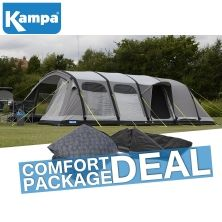 Kampa Dometic Studland 8 Classic AIR Pro Familienzelt (COMFORT PACKAGE DEAL)